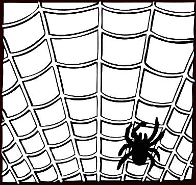 384x363 Free spider web clipart public domain halloween clip art images