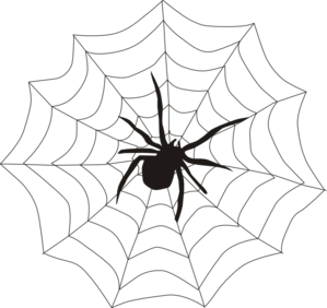 299x282 Spider And Web Clip Art