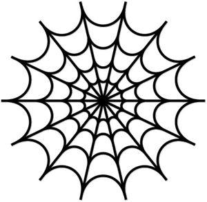 300x293 Spider web stencil clipart