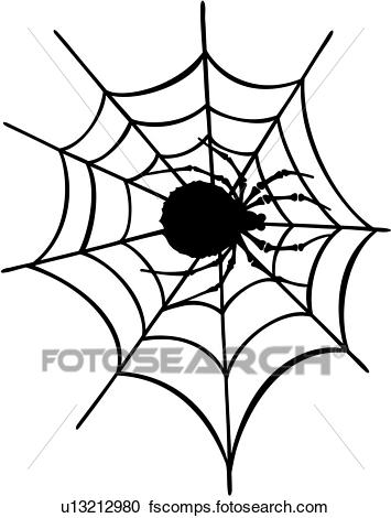 355x470 Clipart Of , Pinstriping, Spider, Spider Web, Vehicle Graphics