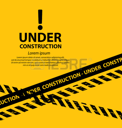 427x450 Under Construction Background Vector Illustration Royalty Free