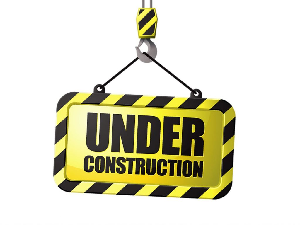 1024x768 Under construction sign work computer humor funny text maintenance