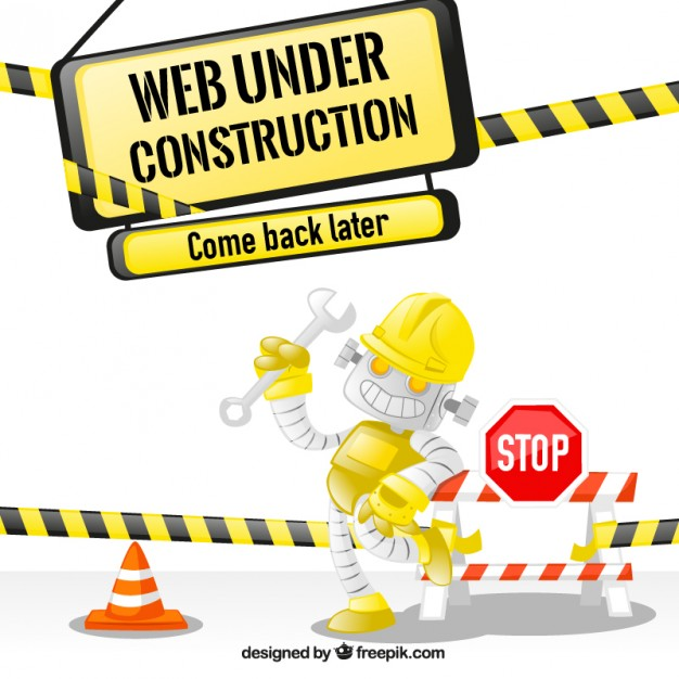 626x626 Web under construction Vector Free Download
