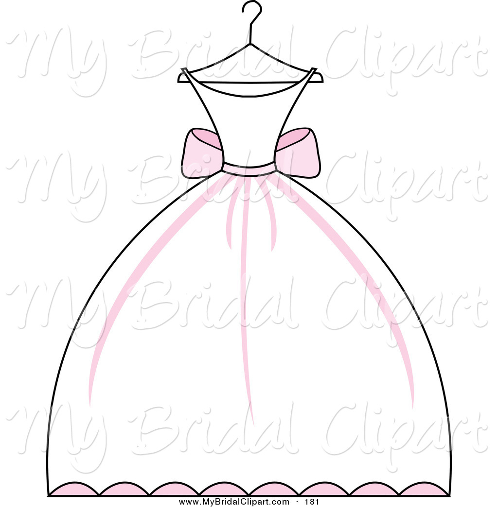 1024x1044 Wedding Dress On Hanger Clipart
