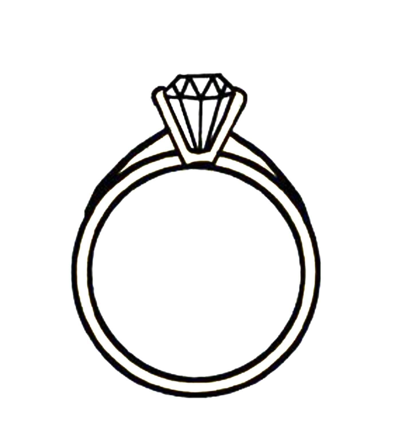 1375x1500 Diamond Engagement Rings Clip Art 5 Engagement Rings