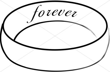 388x254 Black And White Wedding Ring Clipart 101 Clip Art