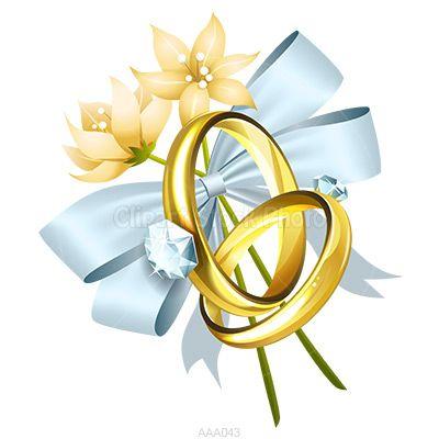 400x400 Bell Clipart Wedding Ring