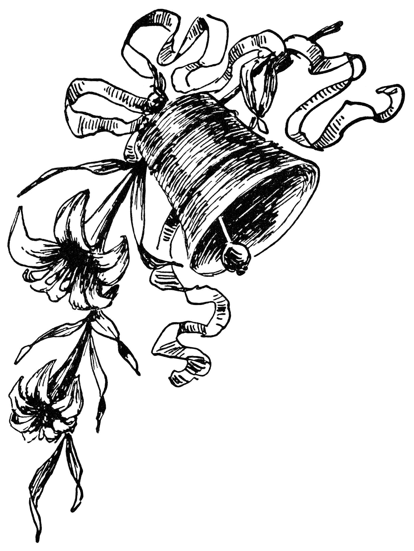 1745x2320 Clip Art Wedding Bell Clip Art