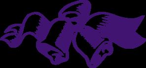 296x138 Purple Wedding Bells Clip Art