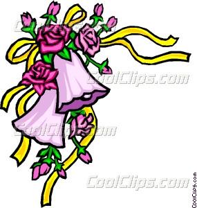 285x300 Wedding Bells Vector Clip Art