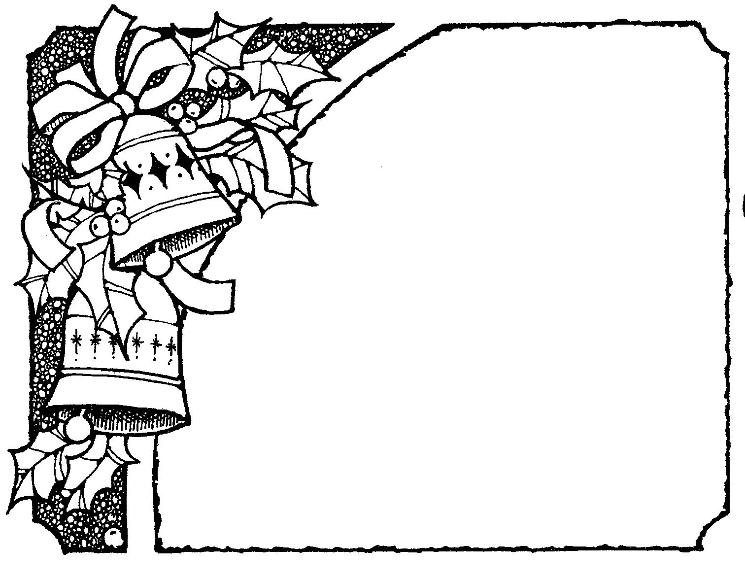 1512x1177 Black Amp White Clipart Border
