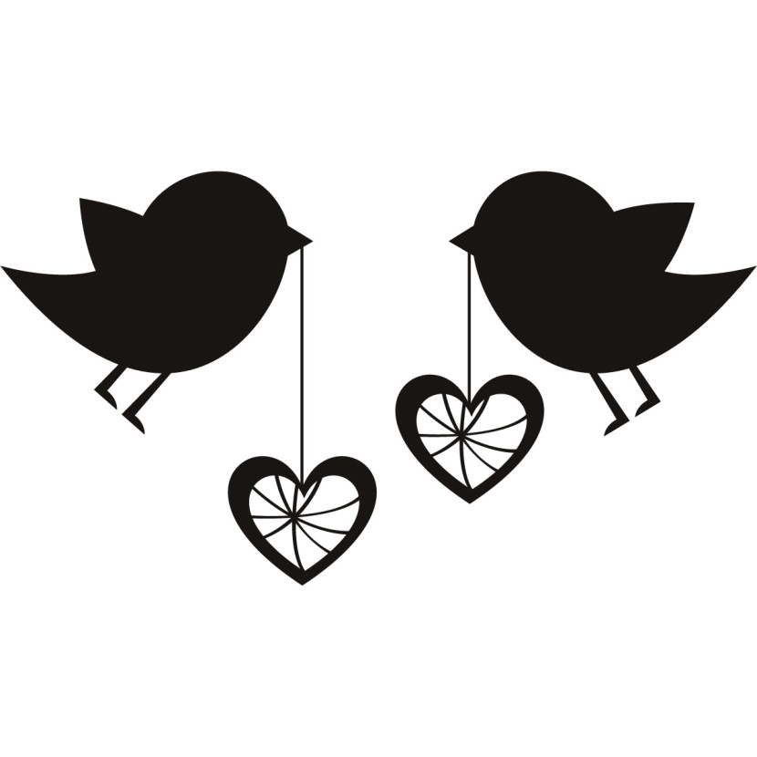 830x830 Cute Hearts Clipart Black And White