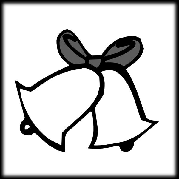 600x600 Wedding Bell Clip Art