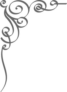 236x323 Free Black Clip Art Borders And Frames Weddings Custom Vintage