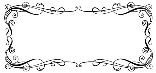 500x234 Free Borders Wedding Clipart And Others Art