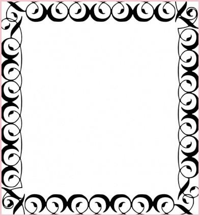 393x425 Purple Camo Wedding Invitations Inspirational Decorative Border