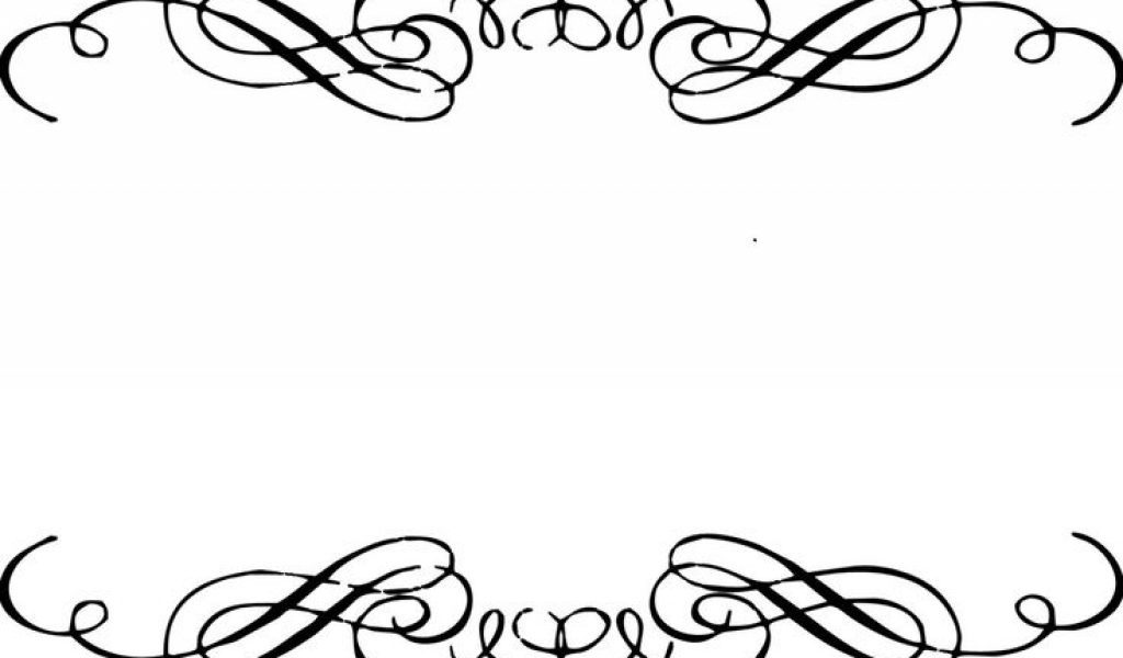1024x600 Wedding Invitations Border Designs