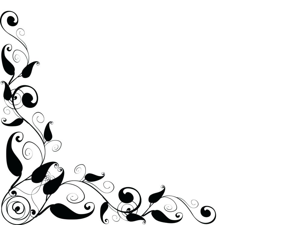 1000x750 Free Clipart Backgrounds Clip Art Wedding Borders Free Floral