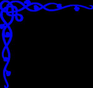 299x282 Blue Wedding Clip Art