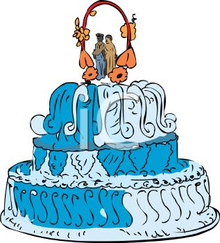 Wedding Cakes Clipart