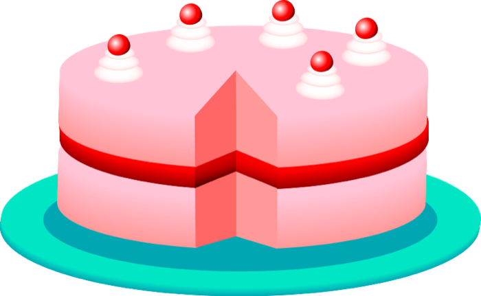700x431 A Cake Clipart