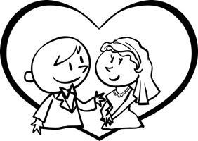 282x200 Wedding Clip Art Free