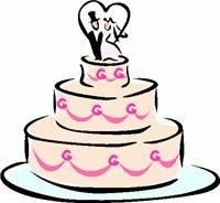 200x184 Clip Art Wedding Cake 101 Clip Art