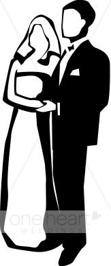 163x388 Wedding Clip Art Couples Clipart