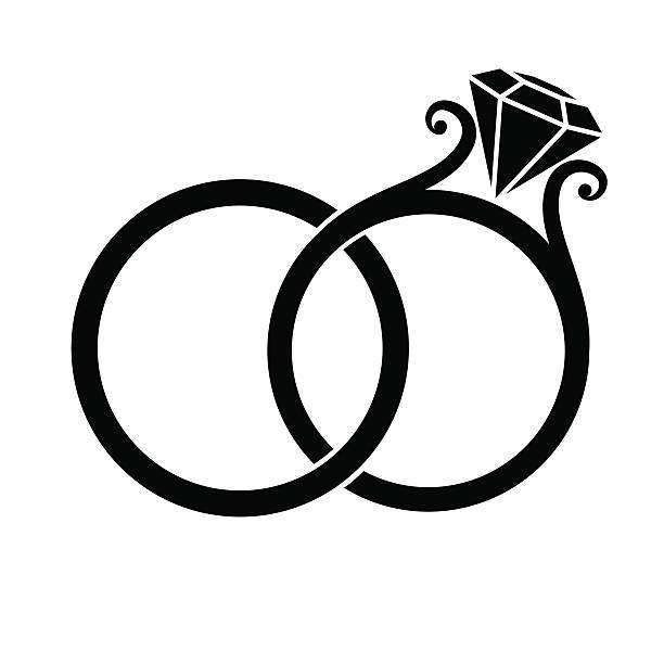 612x612 Wedding Rings Clip Art 33929
