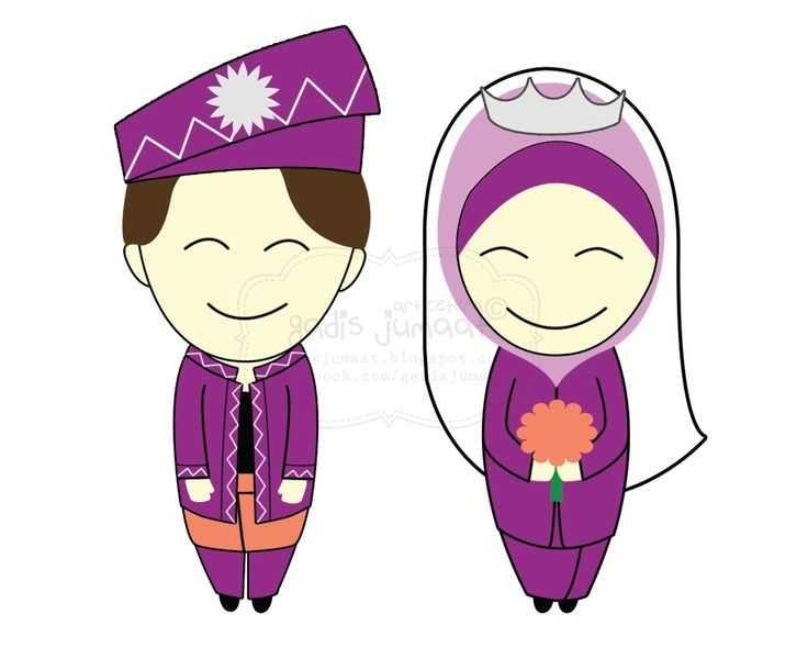 736x600 Muslim Wedding Clipart 101 Clip Art On Islamic Wedding Cartoon