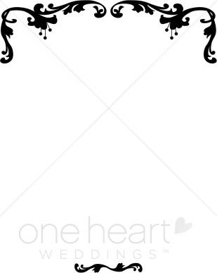 309x388 Border Clipart Wedding 101 Clip Art
