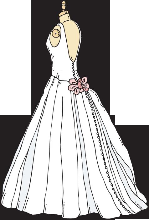 Wedding dress outline free download best wedding dress outline on - Robe de mariee bustier transparent ...
