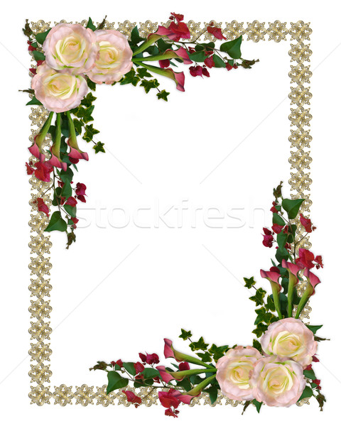 Wedding Flower Borders: Free Download On ClipArtMag