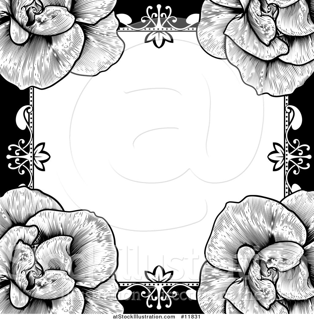 1024x1044 Wedding Invitation Borders Black And White Wedding Invitation Ideas