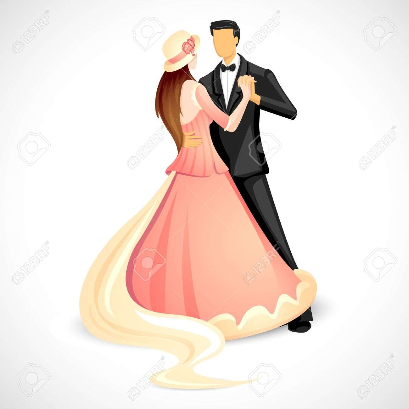 1300x1300 Danse Clipart Wedding Couple