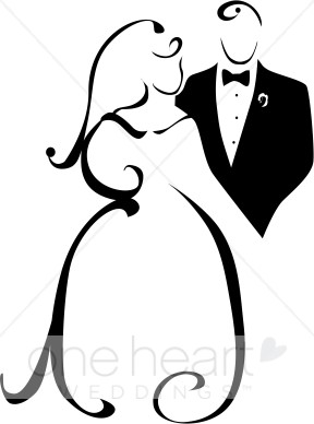 288x388 Clipart Of Wedded Couple Couples Clipart