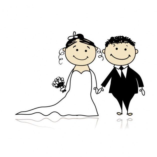 626x626 Art Cartoon Marriage Clipart
