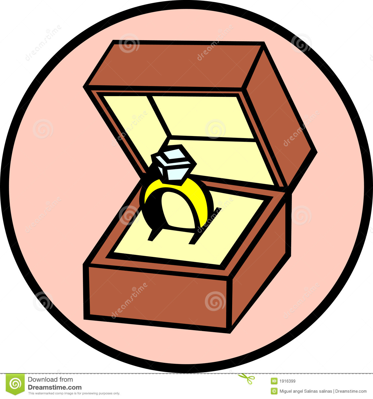 1300x1390 Diamond clipart ring box