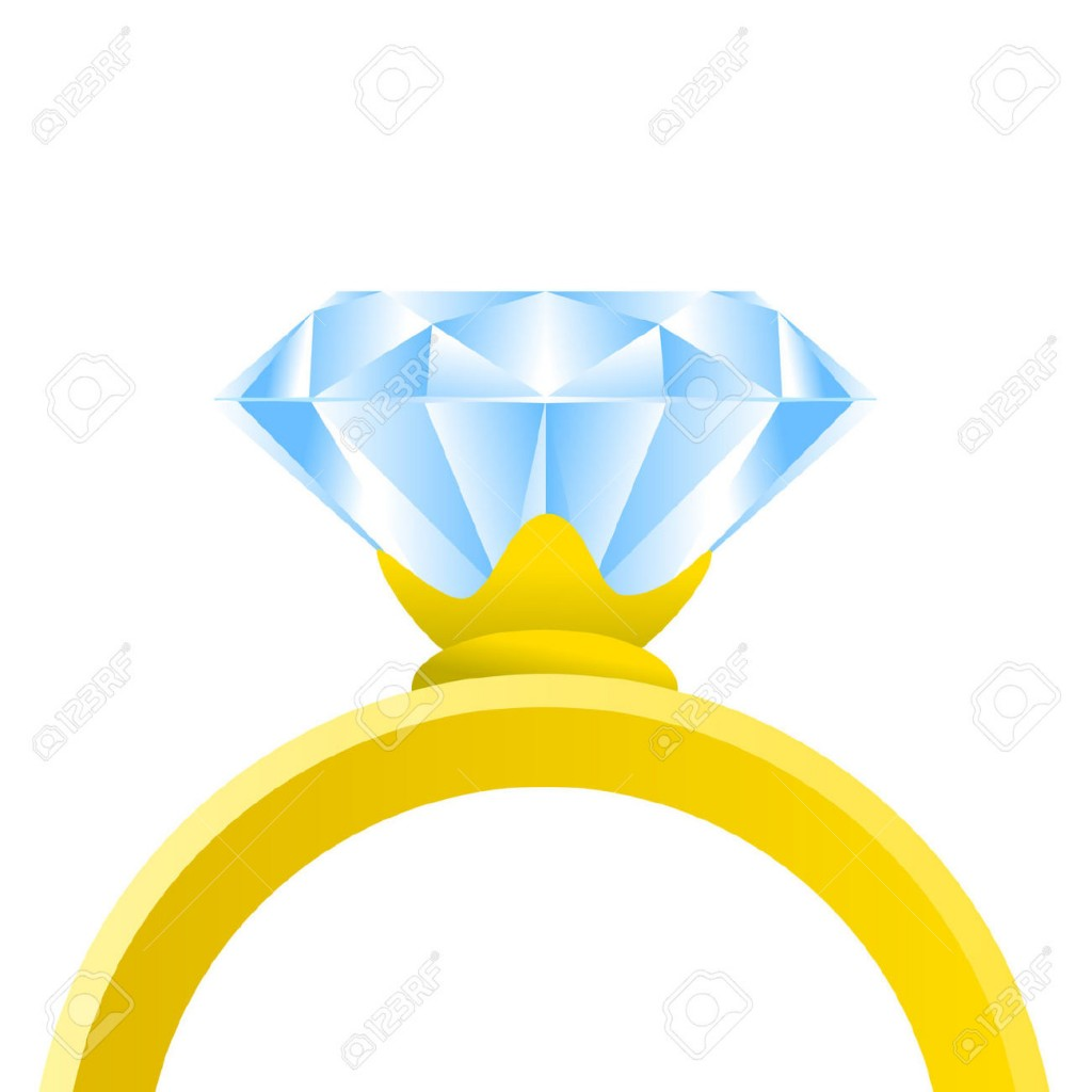 1024x1024 Engagement Ring Clipart