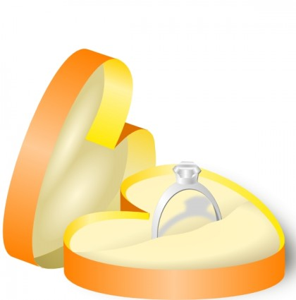 420x425 Engagement Ring Wedding Ring Engagement Cartoon Clip Art 9 Rings