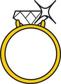 207x285 Ring clipart gold ring