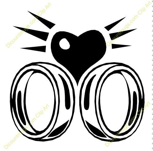 500x493 Ring clipart interlocking ring