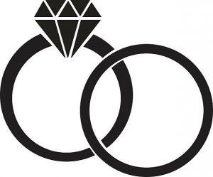 300x249 Amazing Inspiration Ideas Wedding Ring Clipart Clip Art Vector