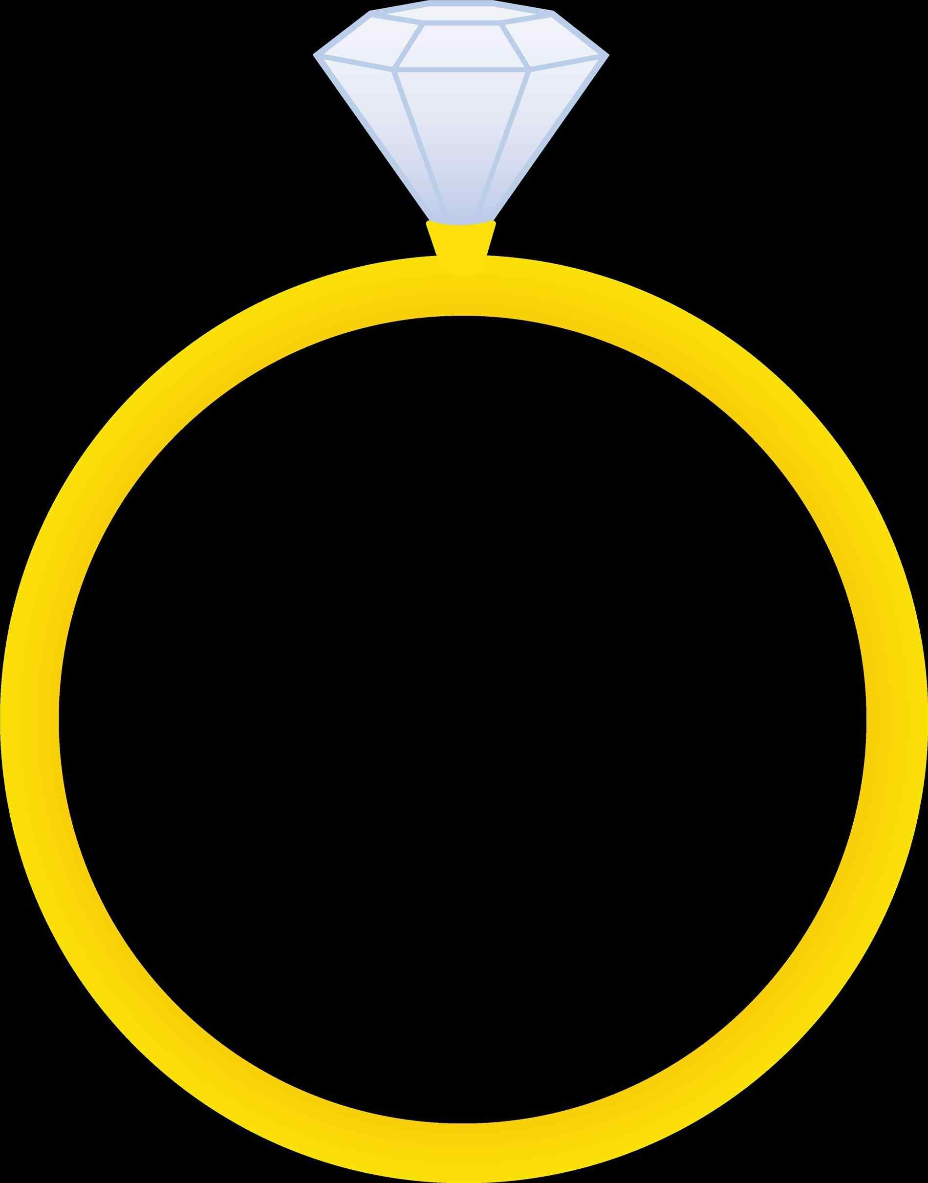 1899x2421 The S Wedding Ring Clipart The Best