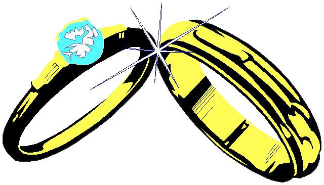 640x366 Wedding ring clip art Clipart Panda