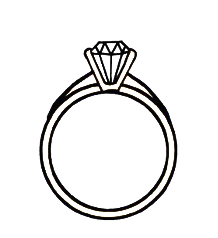 1375x1500 Diamond Engagement Rings Clip Art 5 Engagement Rings