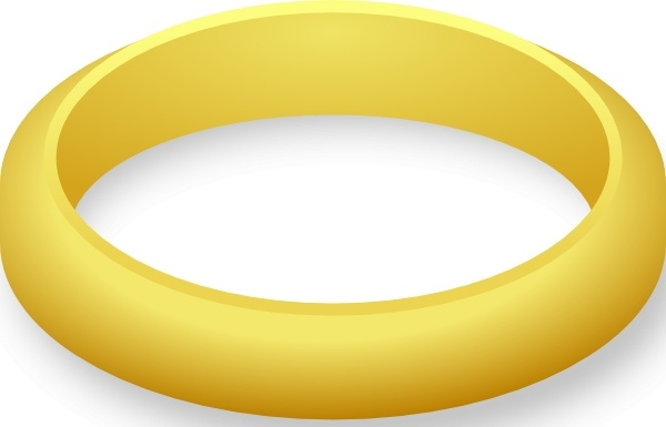 600x385 Jewelery Wedding Ring Clip Art Free Vector In Open Office Drawing