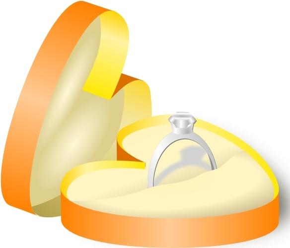 584x500 Rockraikar Wedding Ring In A Box Clip Art Free Vector In Open