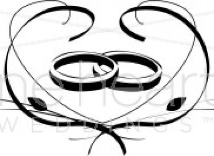 440x320 Two Wedding Rings Clipart