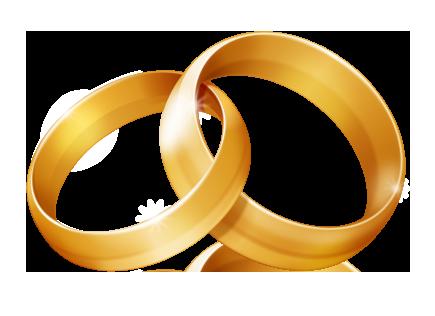 435x316 Clip Art Wedding Rings